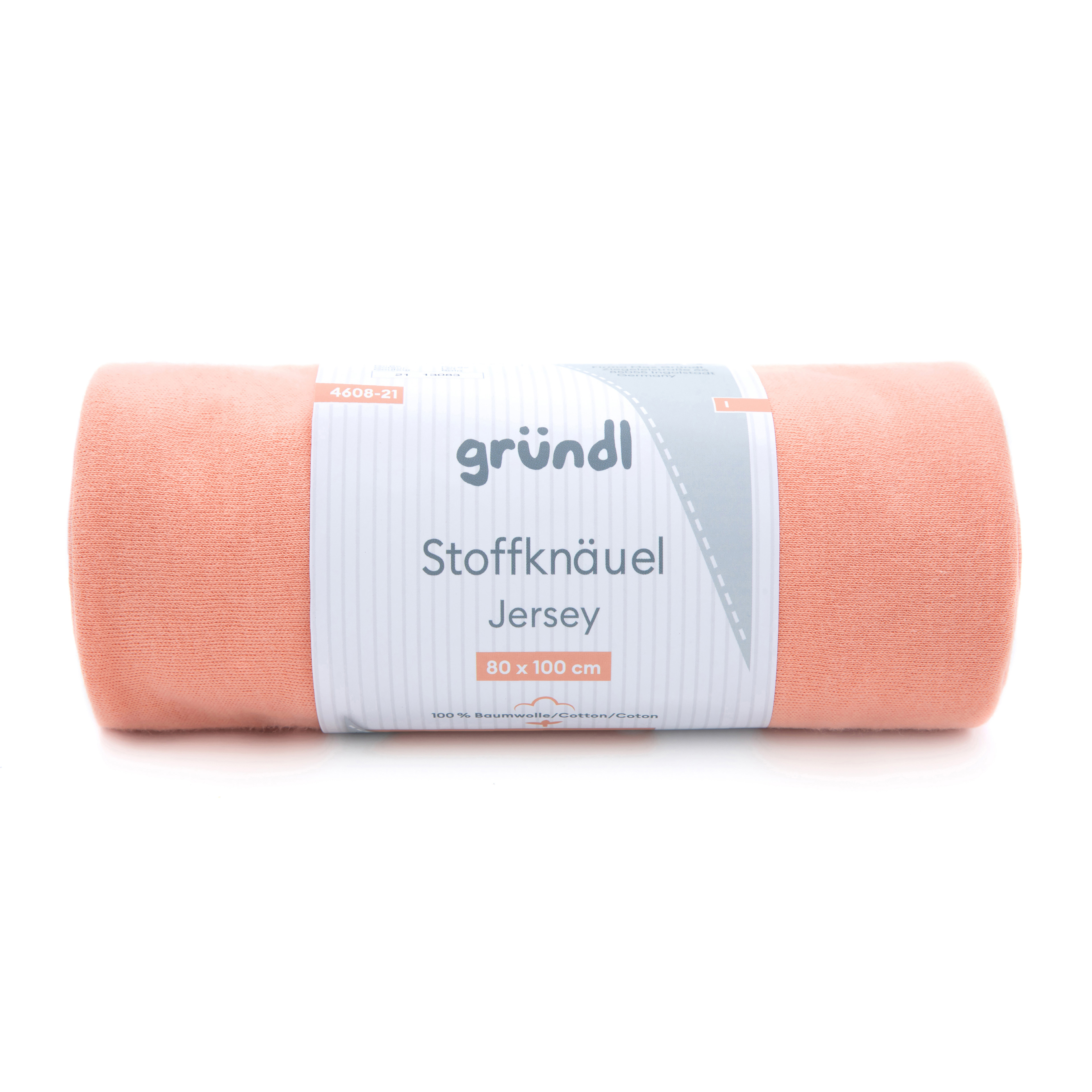Stoffknäuel Jersey uni - Coral Sands
