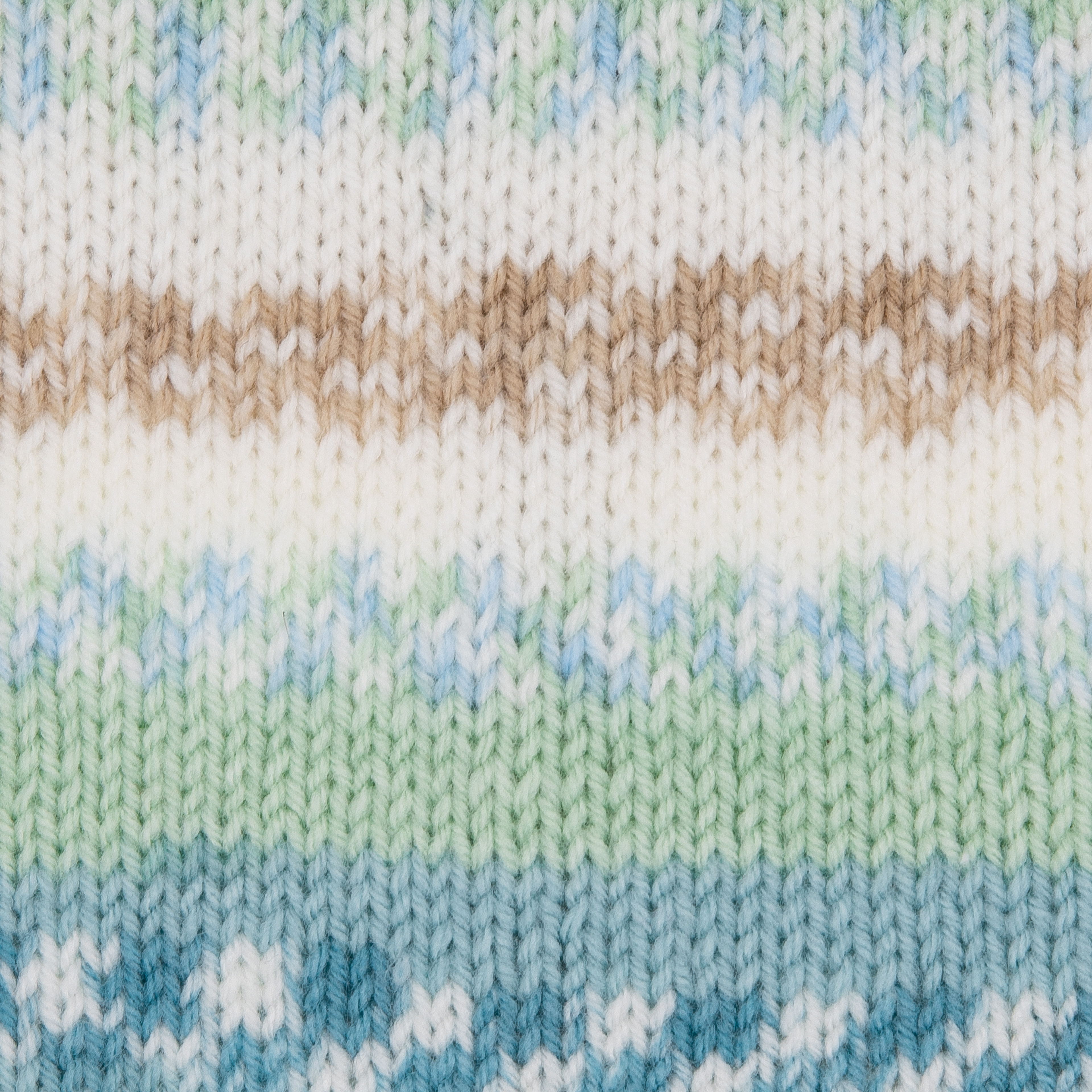 acquamarin braun mint natur multicolor