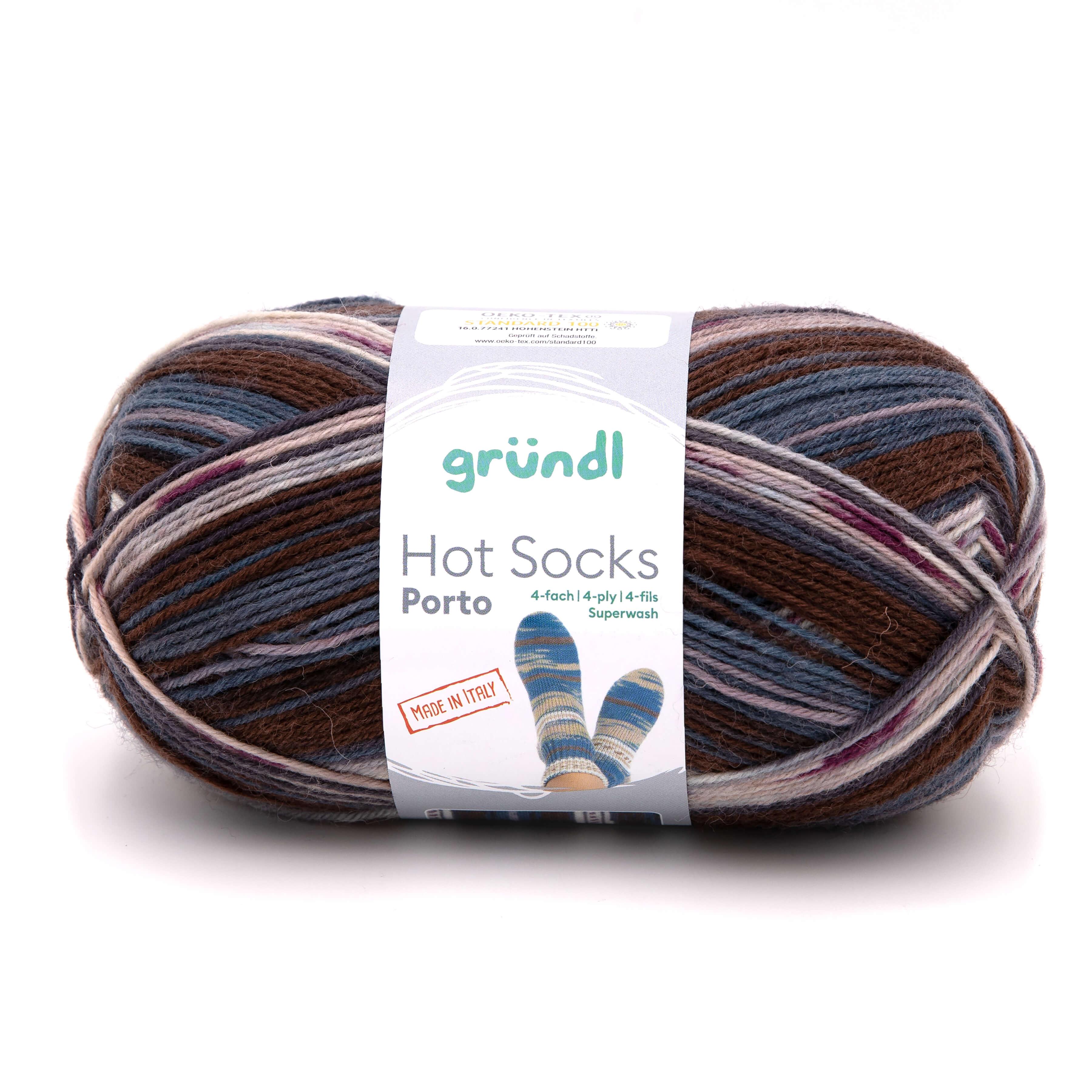 Hot Socks Porto, 4-fach