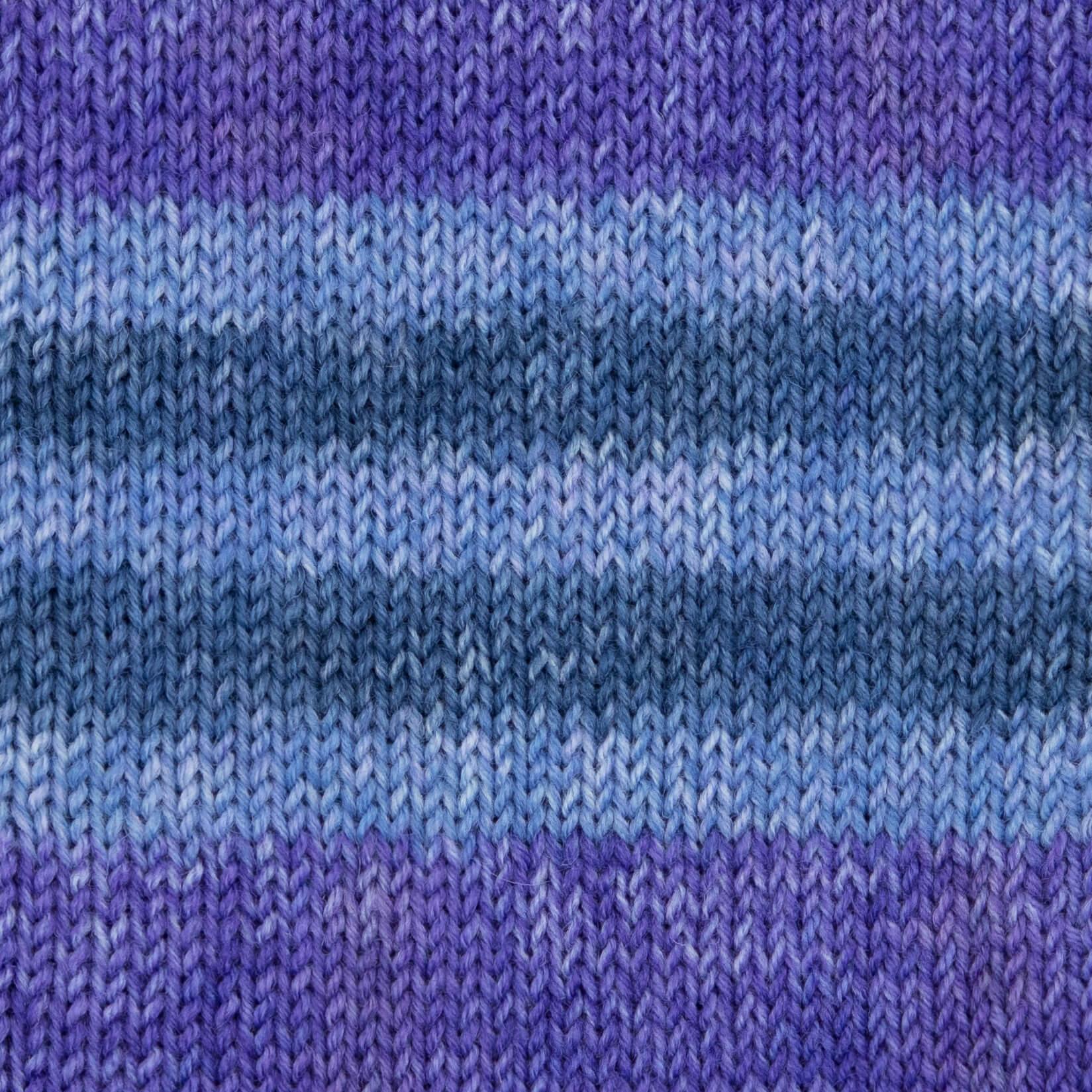 violett-blau-meliert