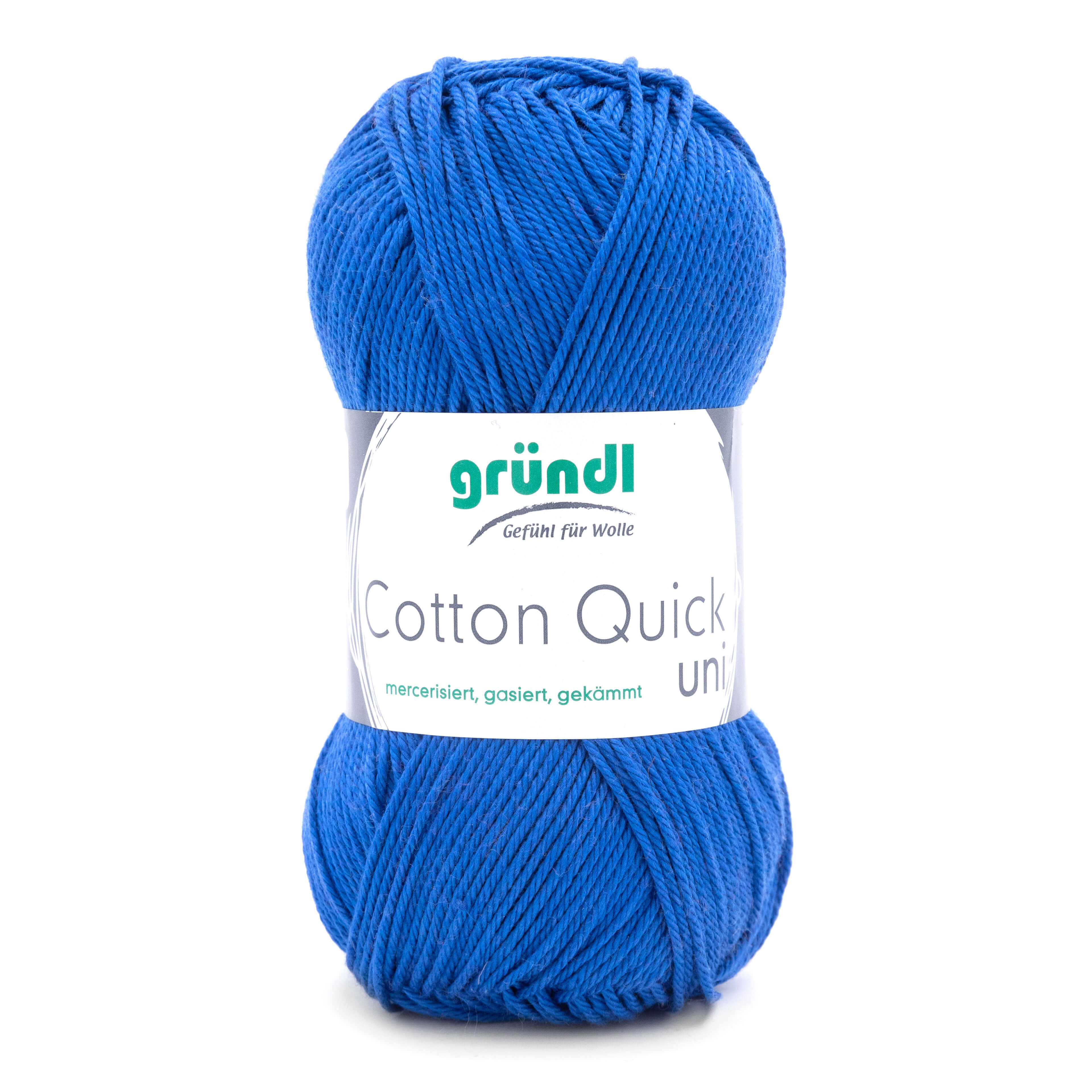 Baumwollgarn von Gründl in kobaldblau