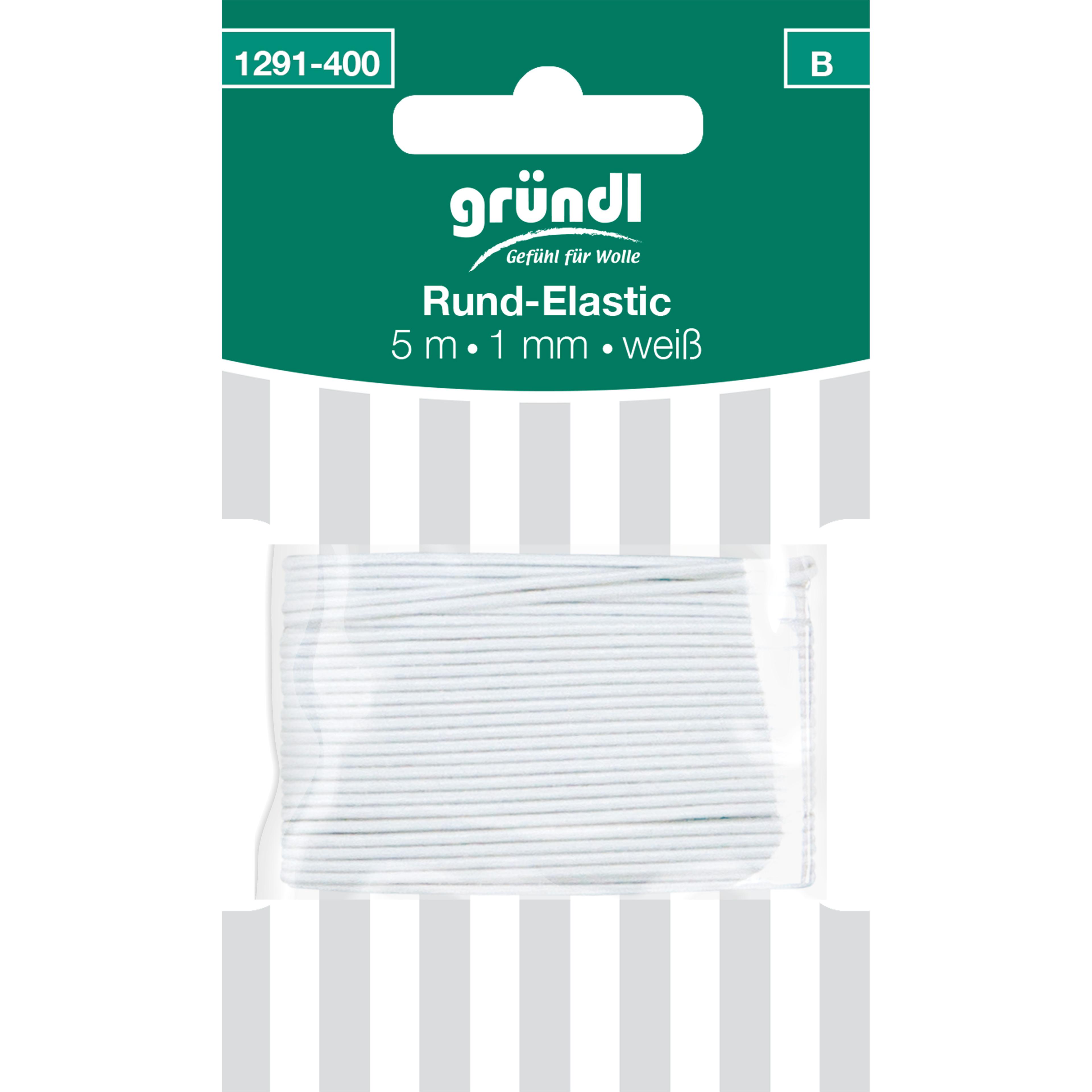 Rund-Elastik, 1 mm x 5 m