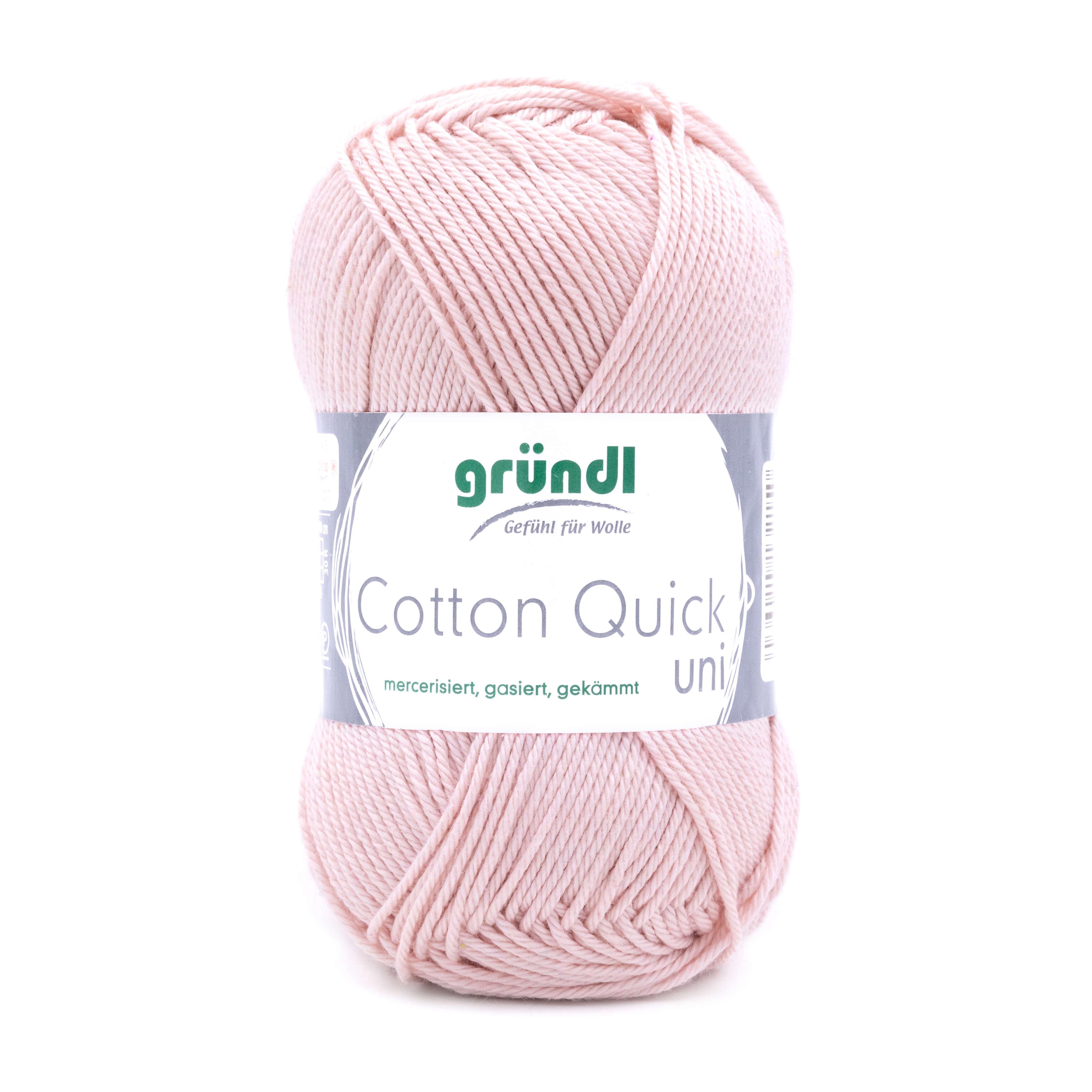 Nudefarbene Wolle zum Stricken und Häkeln von Gründl Wolle